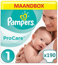 Pampers Procare Premium protection aanbieding
